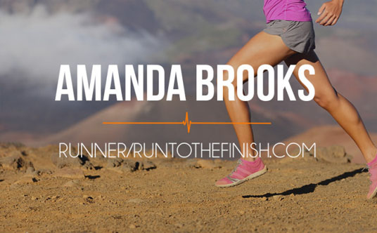 Amanda Brooks | Run to the Finish